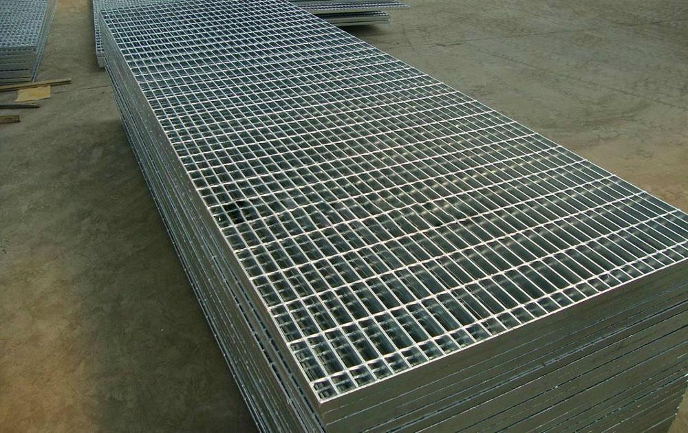 Floor grating plate