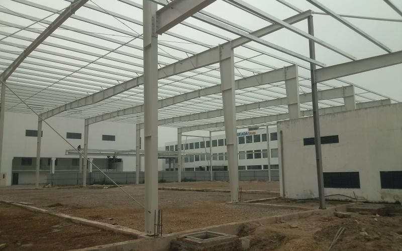 Nhà xưởng xây bằng kết cấu thép