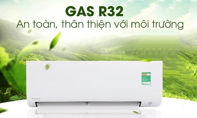 Máy lạnh Daikin 1.5 HP FTC35NV1V dùng Gas 32